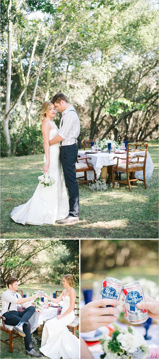 1. Amerikaanse bruiloft. inspiratie tafelindeling