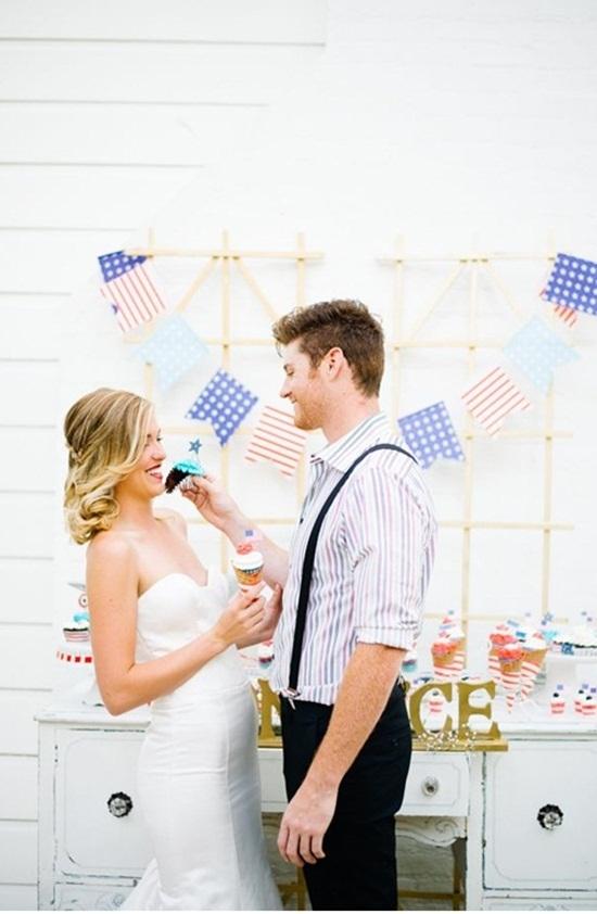 13. Amerikaanse bruiloft. inspiratie cupcaks2.1