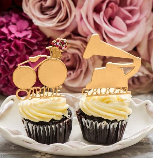 7. BRUILOFT INSPIRATIE. brooklyn chic. cupcakes