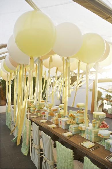 Ballonnen. bruiloft