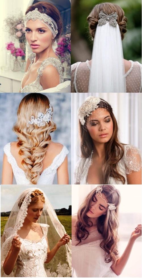 Bruidskapsels. accessoires