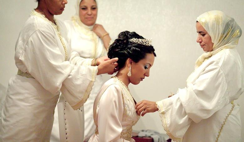 bruid en haar ziyana's