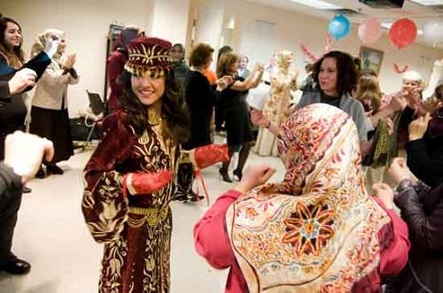 Turkse Bruiloft Henna voor bruiden