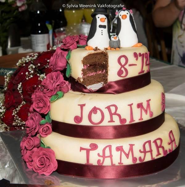 De bruiloft van Tamara en Jorim