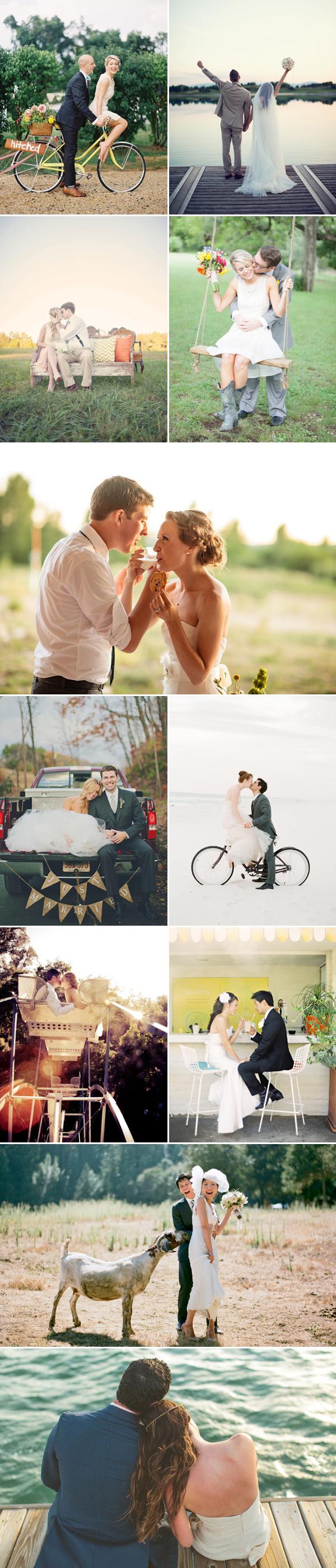 Pas getrouwd foto