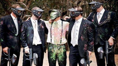 paintbal men