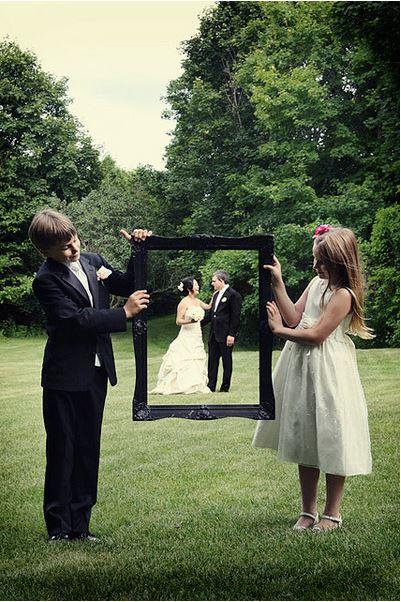 kinderen op de bruiloft