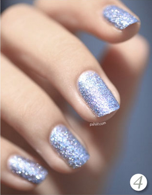 manicure zilver