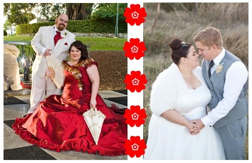 Volslanke bruiden, geniet van je trouwdag!