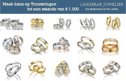 #loveandwin Langerak Trouwringen