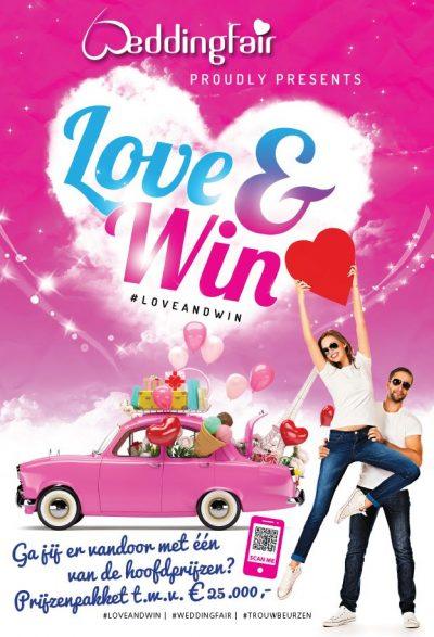 Poster Loveandwin Bruidsbeurzen