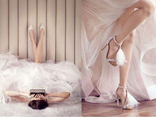 schoentjes voor bruid