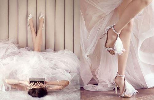 Bruidsschoenen Jimmy Choo