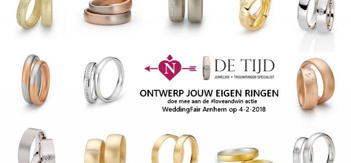 #loveandwin Trouwringen van Juwelier de Tijd
