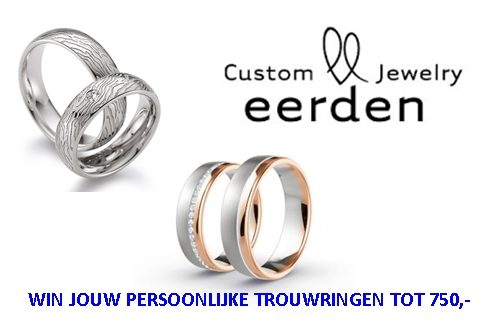 Custom Jewelry Eerden #Loveandwin Trouwringen