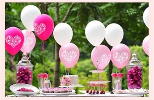 Foto Ballonnen op de trouwdag