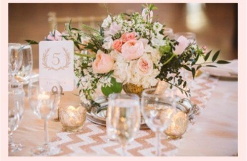 Bloemen Lantarens voor de wedding