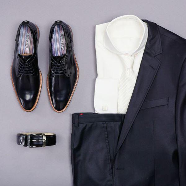 0dd88639eb8 Lees hun story, bekijk hun betaalbare collectie en tips over trouwschoenen  voor heren en laat je inspireren door hun missie.