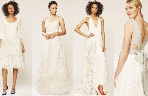 SJP Bruidscollectie | Sarah Jessica Parker en GILT brengen bruidscollectie