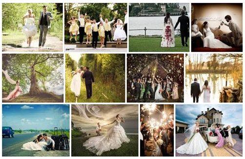 Originele trouwfoto's die niet truttig of standaard zijn. Hoe doe je dat?!