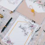 wedding invitation card decoration lay flat fine art wedding. Fine art lay flat wedding decoration invitation and envelope.