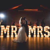 Bruiloft Letters