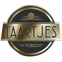 Taartjes toko logo