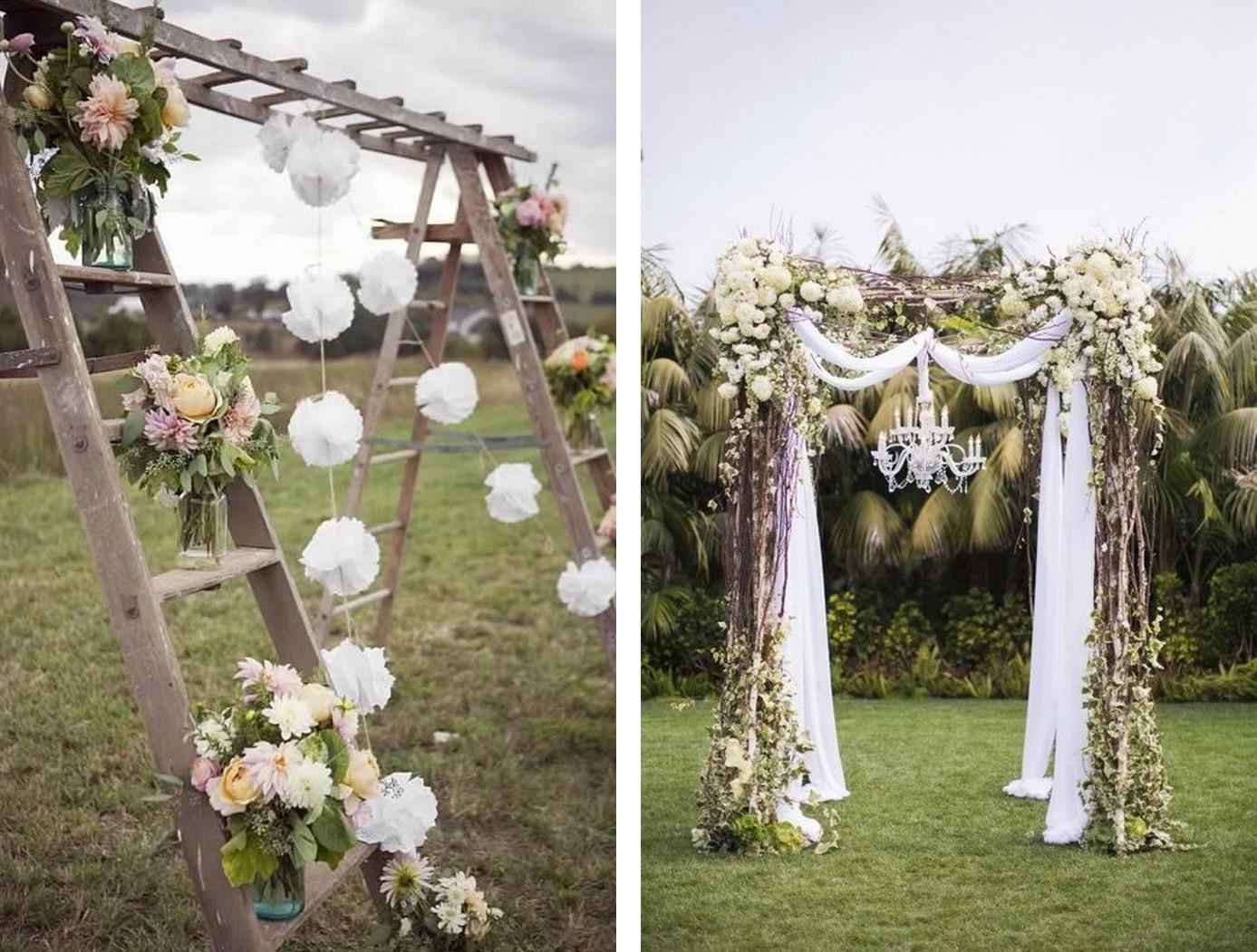 Wonderbaar Deze wedding trend is hot! Bogen en pilaren op jouw bruiloft NS-73