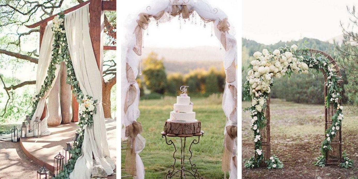 Ongekend Deze wedding trend is hot! Bogen en pilaren op jouw bruiloft OH-35