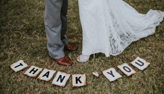 6 leuke trouwbedankjes voor een lente- of zomerbruiloft