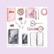 Web icoontje magazine planning