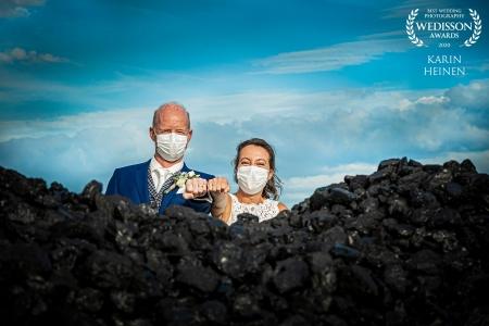 Een corona-wedding door de lens van de fotograaf