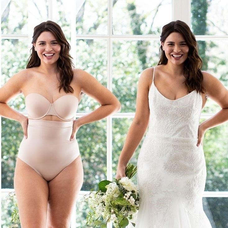 bruidslingerie trouwjurk